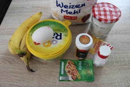 Бананове печиво з корицею