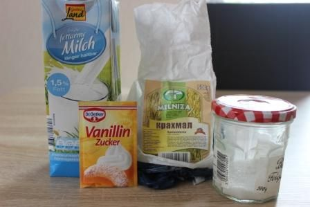 Кисіль молочний