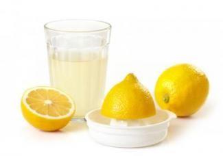 Лимонний сік для нігтів