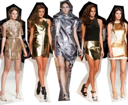 Модні тренди: леопардовий принт і ефект металік