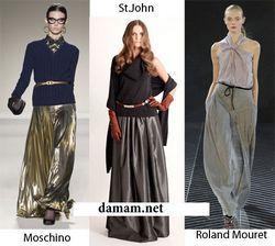 Модний тренд: спідниці максі