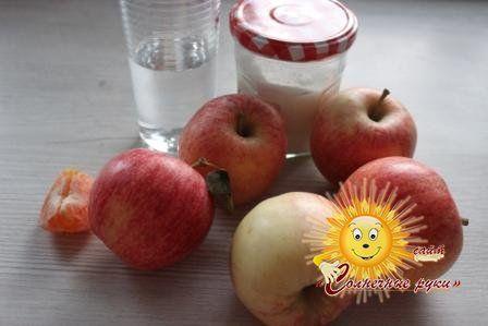 Мус яблучний