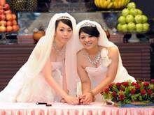 Одностатева буддійська весілля на Тайвані