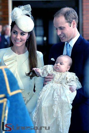 Принца Георгій не будуть виховувати по королівських традицій