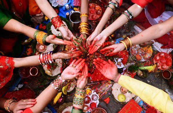 «Ріші Панчамі». Традиційний жіночий фестиваль