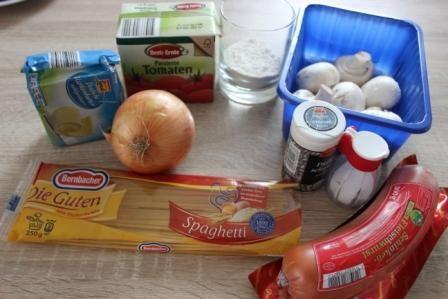 Спагетті по-міланськи.