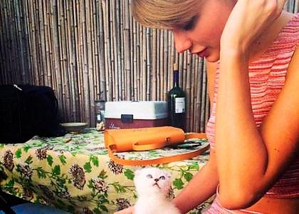 Тейлор Свіфт завела кошеня