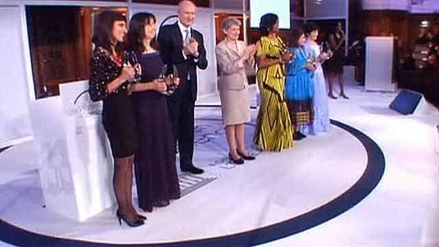 У париже нагородили 5 видатних жінок
