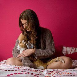 Жінка і кішка
